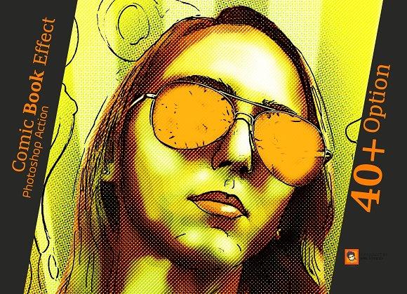 Скачать [Creativemarket] Comic Book Effect Photoshop Action (2019), Отзывы Складчик » Архив Складчин