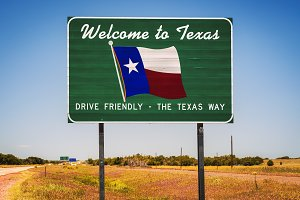 Image result for welcome sign Texas