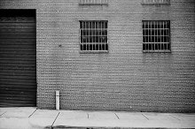 Urban Street Scene Film Photo