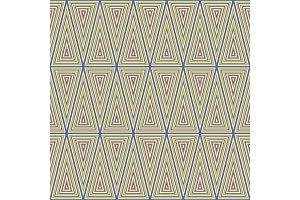 Trendy geometric flat vector