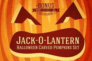 Jack-O-Lantern Pumpkins + Bonus