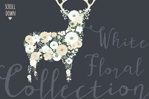 White Floral Collection