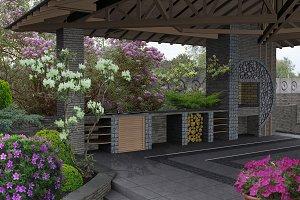 Gazebo interior design ideas