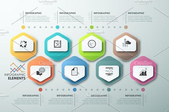 Modern Infographic Process Template ~ Presentation ...