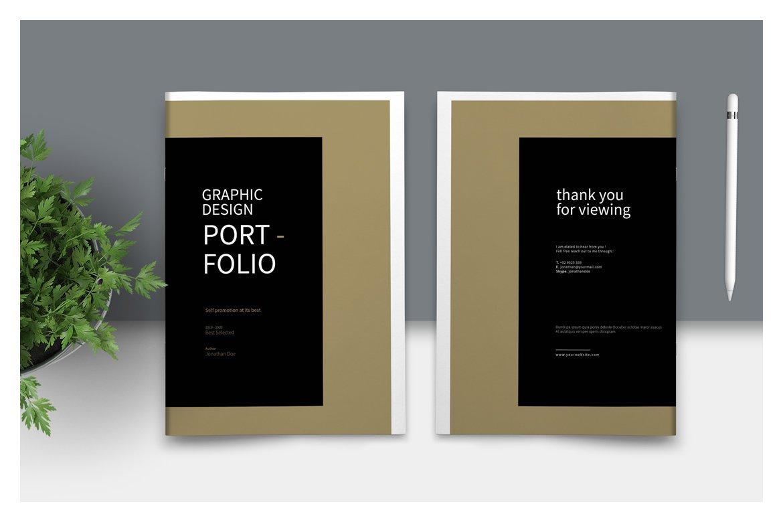 Graphic Design Portfolio Template Creative Daddy,Blueprint Layout Cottage Garden Design
