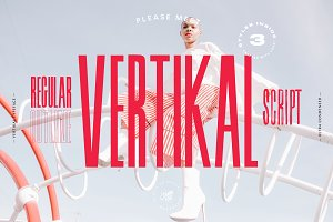Vertikal - 3 Ultra Condensed Fonts