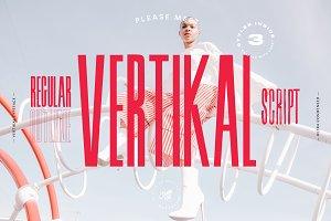 Vertikal - 3 Ultra Condensed Fonts