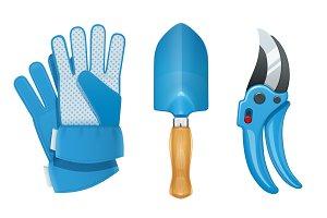 Garden tool for gardening work.