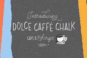 Dolce Caffè Chalk 4 fonts 50% off