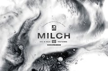 Milch - 50 Ink in Milk Backgrounds by  in Textures