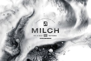 Milch - 50 Ink in Milk Backgrounds