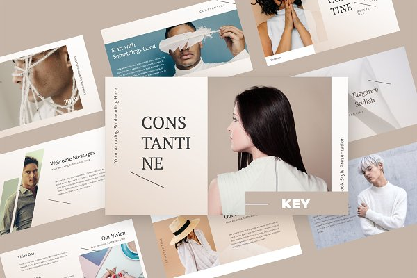Presentation Templates Moving Slides Std Constatine Fashion Keynote