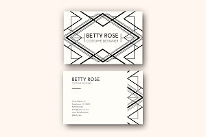 Modern Deco Business Card Templates