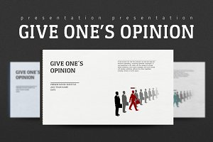 Give One's Opinion