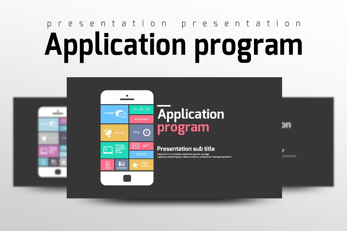 Application Program Other Presentation Software