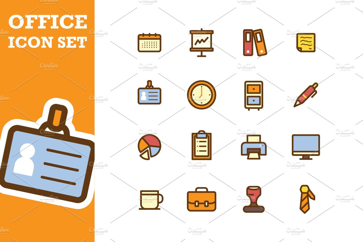 Office Icon Office Icon Set...