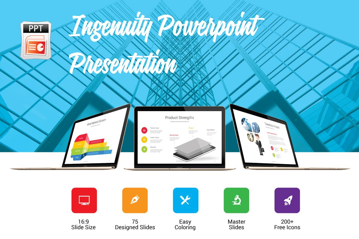Ingenuity - Business Presentation ~ PowerPoint Templates