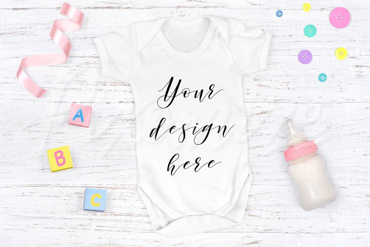 Baby Grow Mockup Photograph ~ Product Mockups ~ Creative Market 6d269bc19