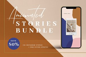BUNDLE Animated Instagram Stories