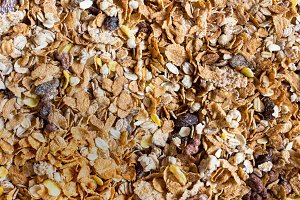 Muesli Background