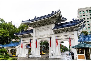 Dazhong Gate of Liberty Square in