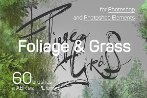 60 Photoshop Foliage brushes