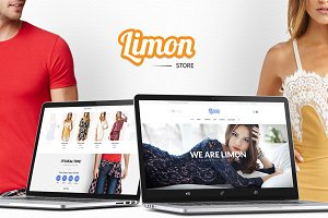 Limon - All in 1 Ecommerce PSD Set