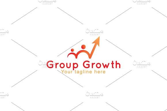 Group Growth & Sucess- Business Logo ~ Logo Templates
