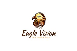 Eagle Vision-Wild Bird Stock Logo