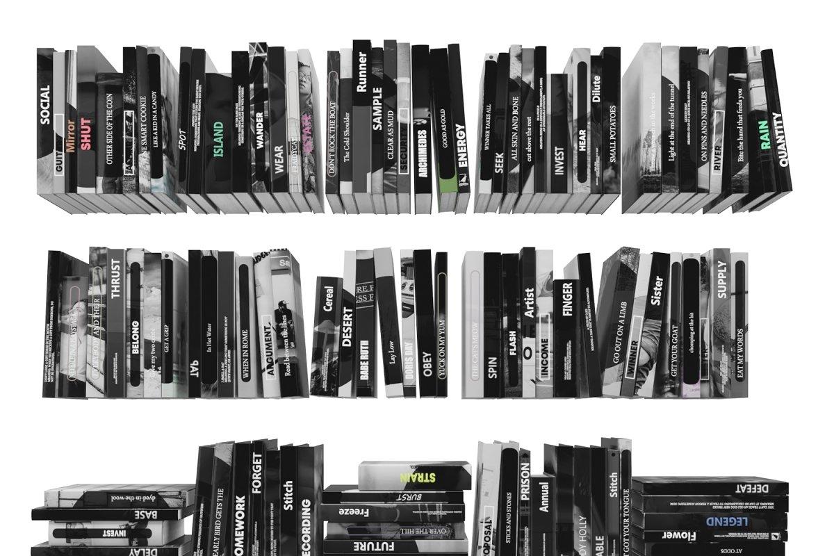 Books 150 pieces 3-6-1