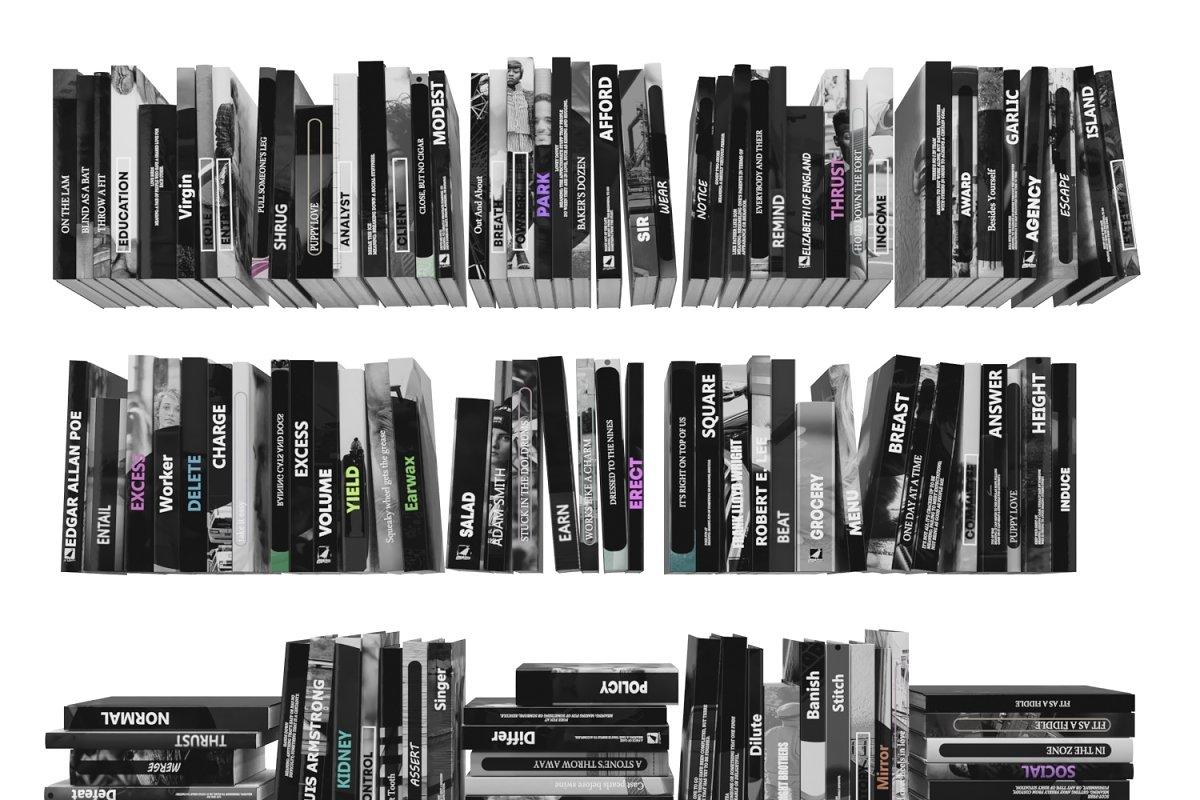 Books 150 pieces 3-6-2