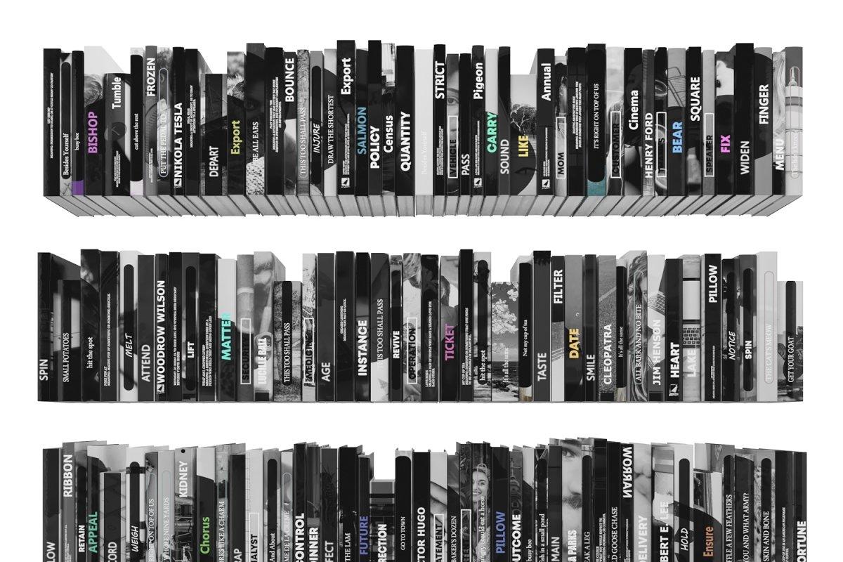 Books 150 pieces 3-7-1