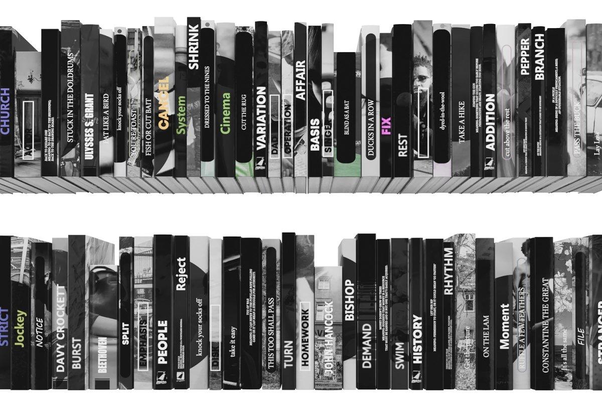 Books 150 pieces 3-7-3
