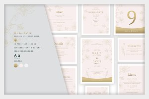 Wedding Invitation Suite - Belleza