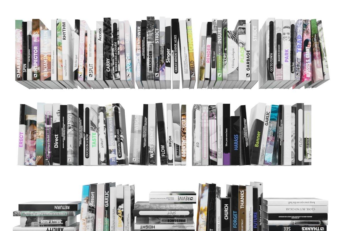 Books 150 pieces 4-1-1