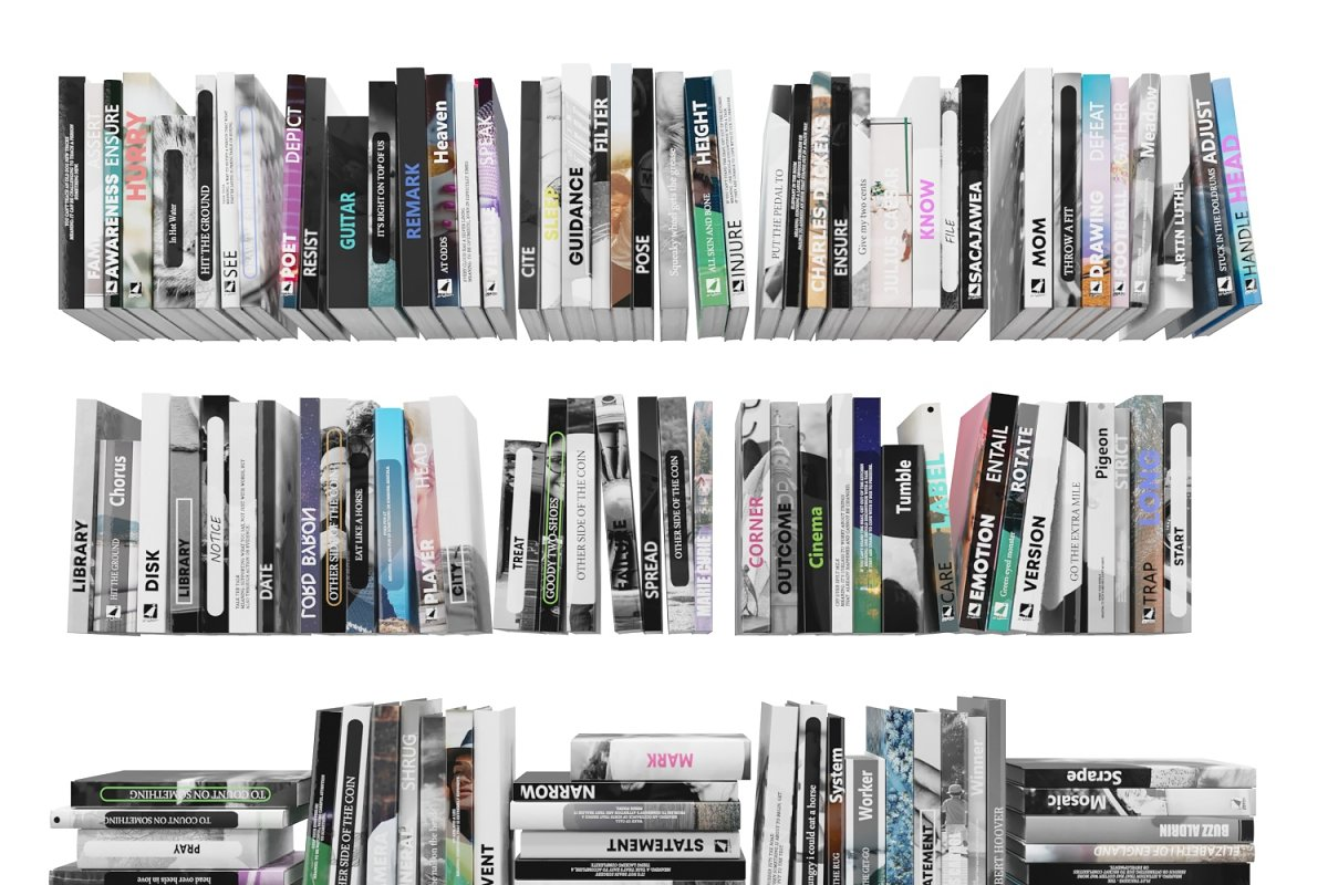 Books 150 pieces 4-1-2