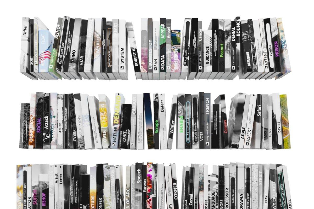 Books 150 pieces 4-2-1