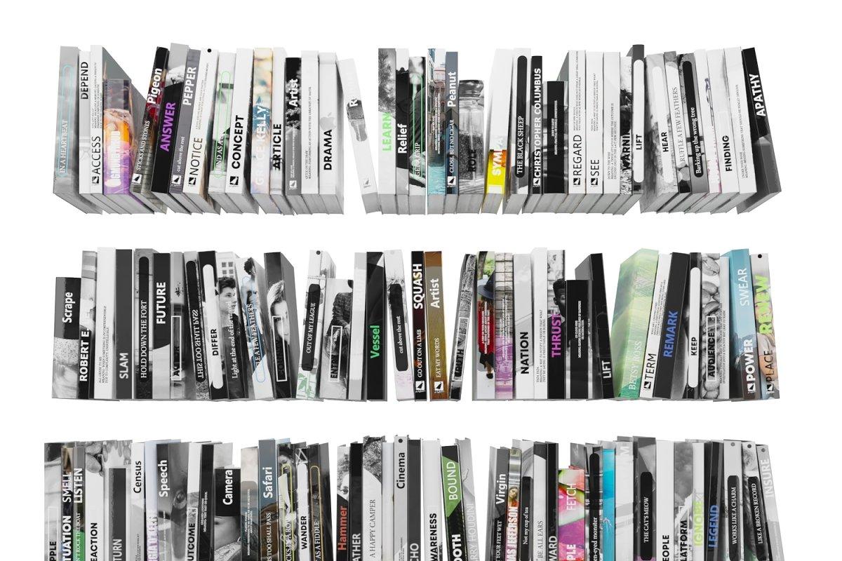 Books 150 pieces 4-2-2