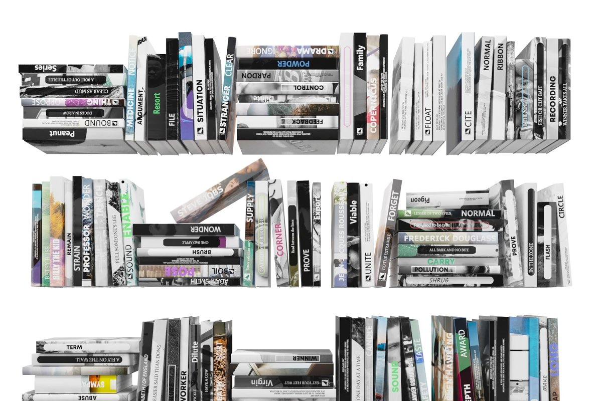 Books 150 pieces 4-3-1