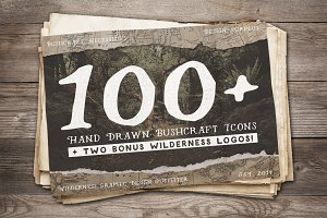 Bushcraft Necessities, 100+ Icons