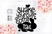 Shake Your Cute Cotton Tail Cut File