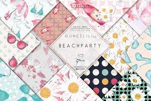 Summer Digital Paper Pack