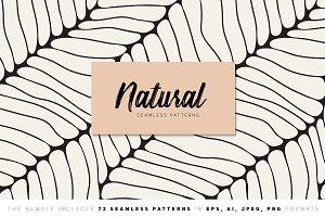 Natural Seamless Patterns Bundle