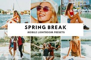 Spring Break Mobile Lightroom Preset
