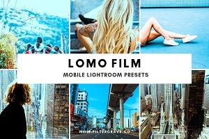 Lomo Film Lightroom Presets Theme