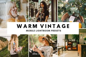 Warm Vintage Lightroom Presets IG
