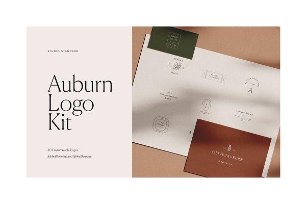 Logo Templates: Studio Standard - Auburn Logo Kit