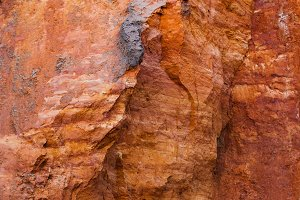 Layers Of Colorful Geological Format