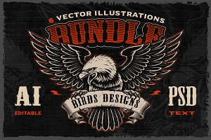 Birds Vectors Bundle