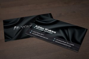 Dark Silk Business Card